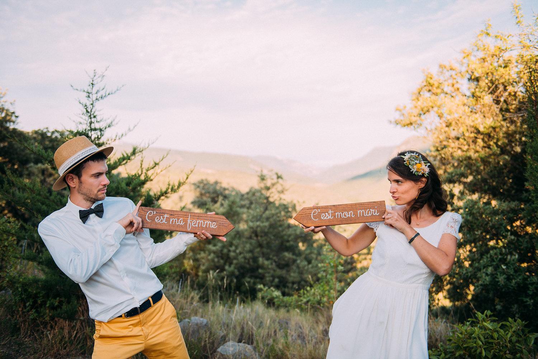 Le joli mariage de Guillemette et Bastien